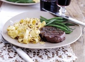 fillet steak anchovy rosemary butter sauce