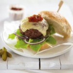 hereford beef burger with cheese